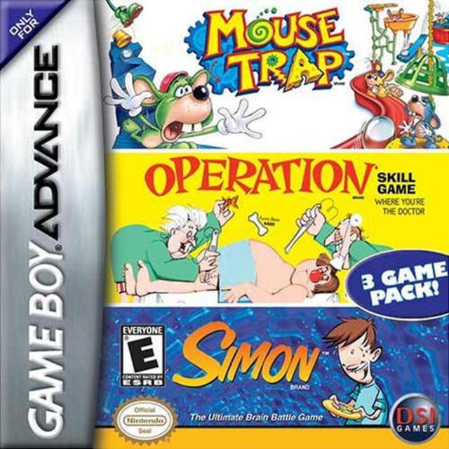 Operation / Mouse Trap / Simon