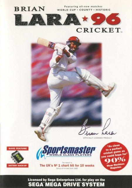 Brian Lara Cricket '96