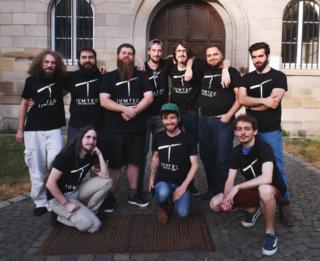 the full team - June 2019