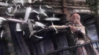 Lightning's appearance in Final Fantasy XIII-2.