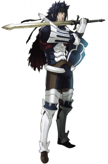 Priam, a character found only in Fire Emblem: Awakening's Spotpass-distributed Paralogue 23