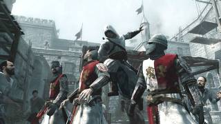 Altair performing an assassination.