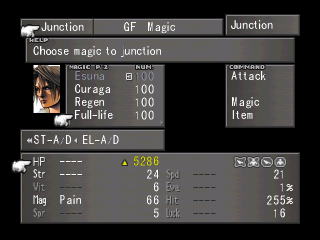 Junctioning magic to attributes