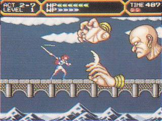 This boss is not in the SFC version.