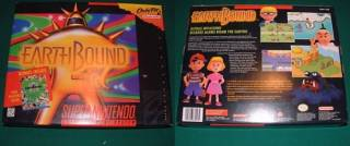 EarthBound's box definitely stood out on store shelves due to its size.