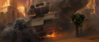 The new Crucio Siege Tank