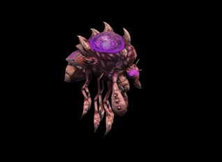 SC2 Overlord model