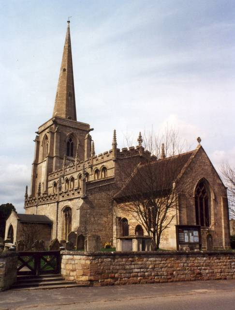 The actual church