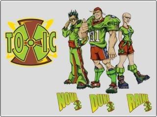 Team Toxic. Left to Right: Nova, Duke, and Raine.