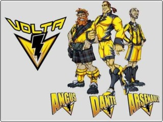 Team Volta. From Left to Right: Angus, Dante, and Arsenault.