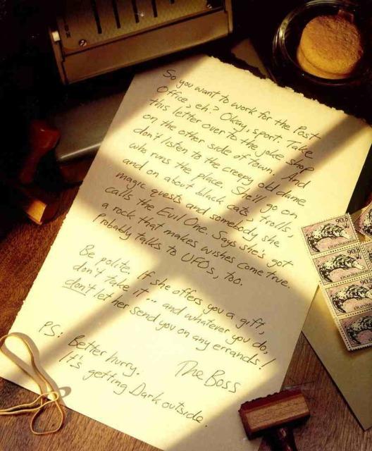 Letter from Mr. Crisp