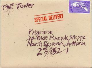 Envelope of the Evil One's letter