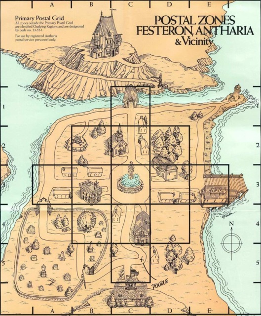 Map of Festeron