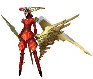 Trismegistus, Junpei's evolved Persona.