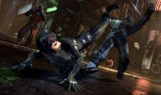 Catwoman is more agile than Batman