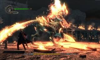 Nero fighting Berial
