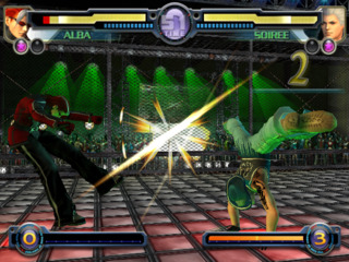 A fight between the two main protagonists.