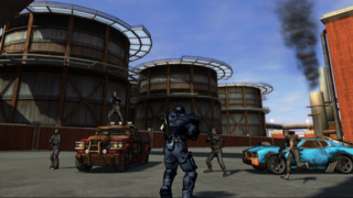 The world of Crackdown 2