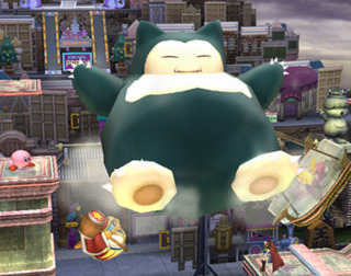 Snorlax lays another beatdown.