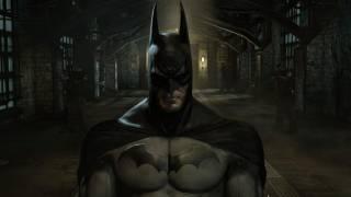 The Dark Knight in Arkham Asylum.