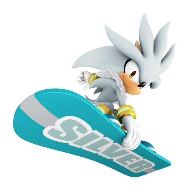 Silver as seen in Mario & Sonic at the Olympic Winter Games.