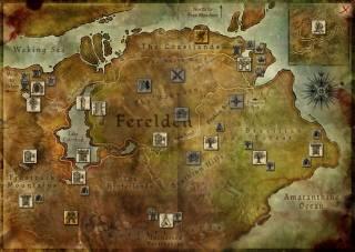 The Map of Ferelden