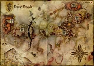 Beneath Ferelden lie the Deep Roads