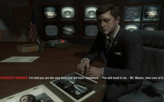 Mason meeting the President