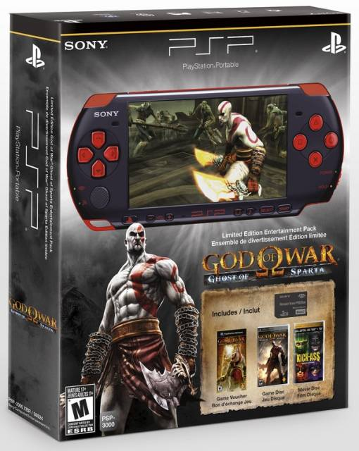 PSP Limited Edition God of War: Ghost of Sparta Entertainment Pack
