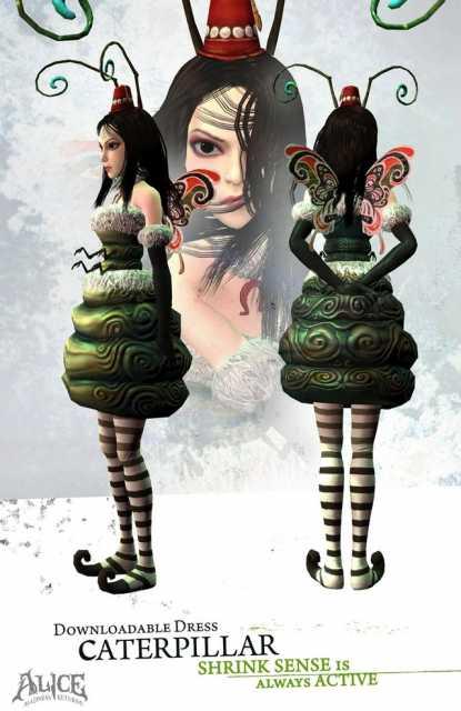 Caterpillar Dress.