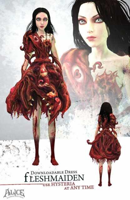Fleshmaiden Dress