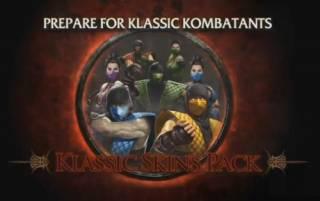 Mortal Kombat Season Pass - Kenshi, Rain y Klassic Skins