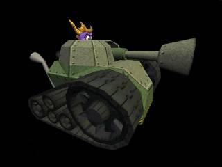 Spyro's Tank.