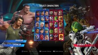 The full pre-DLC roster.