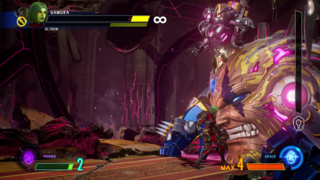 The final form of the game's antagonist, Ultron-Sigma