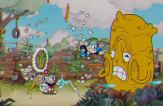 Cuphead and Mugman getting to the root of the issue.