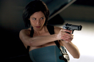 Sienna Guillory as Jill in RE2