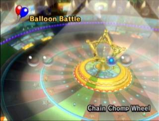 An exception to the casino trend is Mario Kart Wii's Chain Chomp Wheel, but Nintendo decided to keep this exception as it is.