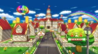 As seen in Mario Kart Wii.