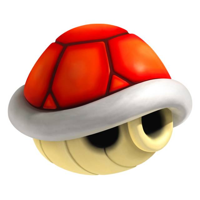 A Red Shell from Mario Kart Wii.