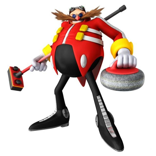 Dr. Robotnik as seen in Mario & Sonic at the Olympic Winter Games.