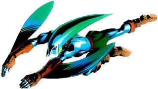 Link's Zora transformation form.