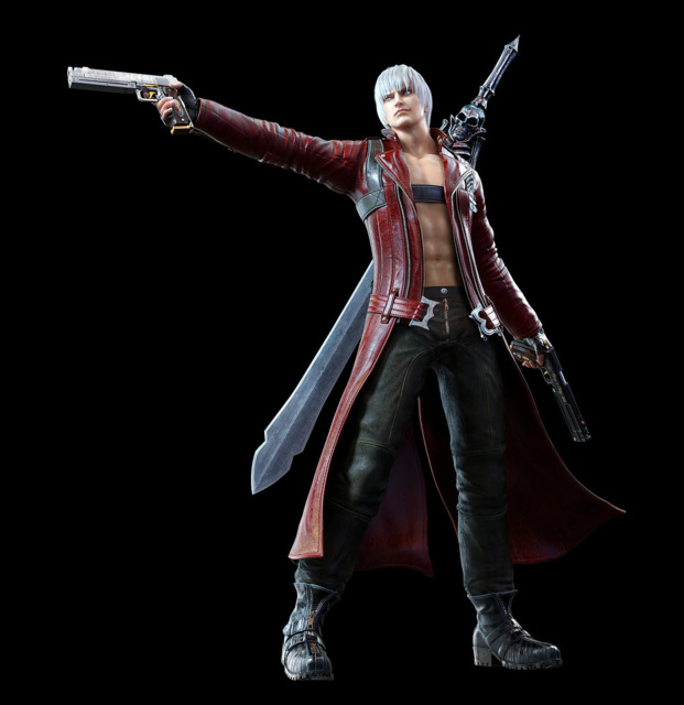 Promotional render of Dante for the game