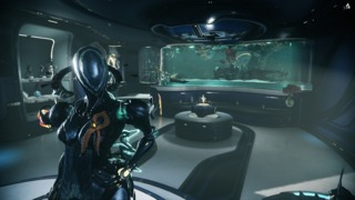 Players can decorate and personalize their own personal quarters on their Oribter