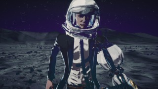 All you need to breathe on the moon is a helmet because WHY NOT