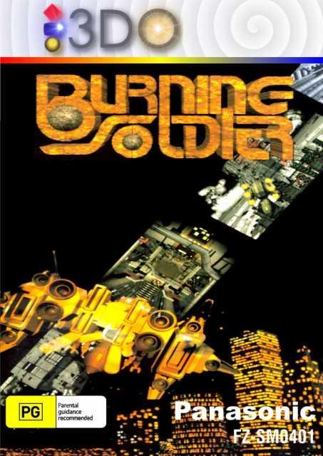 Burning Soldier