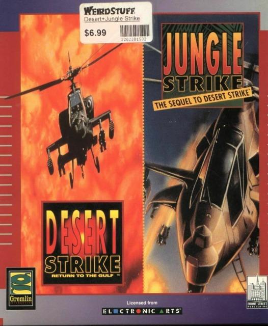 Desert Strike and Jungle Strike