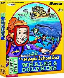 Magic School Bus Whales and Dolphins