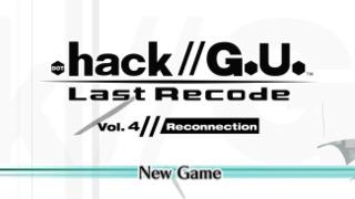 .hack//G.U. Last Recode Vol. 4: Reconnection