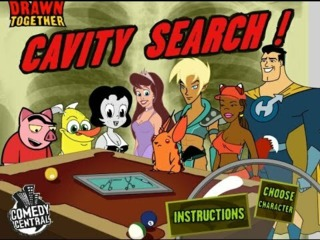 Drawn Together: Cavity Search!